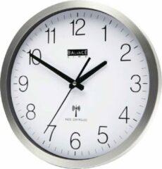 Witte Balance Time Zendergestuurde Wandklok - Zendergestuurd - Aluminium - 30 cm