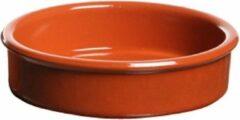 Bruine Cosy&Trendy 18x Luxe creme brulee schaaltjes terracotta 11,5 cm - Hapjes schaaltjes - Tapas schaaltjes