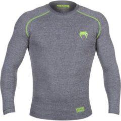 Venum Contender 3.0 Compression T Shirts L/S Grijs maat XXL