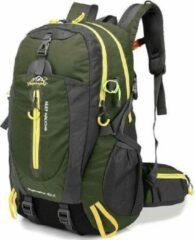 Donkergroene Merkloos / Sans marque Backpack - Hwyanfeng Keep Walking - Groen - Wandelrugzak - Rugtas - Rugzak - 40 Liter
