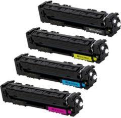 Cyane Goedkoopprinten Compatible XL-versie voor HP 201A toner / HP 201X toner Actieset