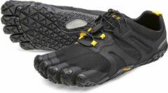 Zwarte Vibram Fivefingers women v-trail 2.0 black yellow 19W7601