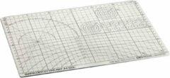 Tamiya 74056 Cutting Mat DIN-A4 Grey/White Snijmat