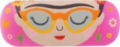 Rode Brillenkoker Boho Fiesta Frida Kahlo Sass & Belle