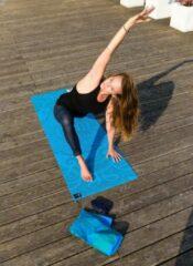 Yogatas yogibag basic art collection - katoen ethnic aqua Sporttas YOGISTAR