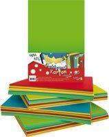 100 X Gekleurd A4 Papier - 100 Stevige Vellen Tekenpapier - Knutselpapier Gekleurd A4 Papier