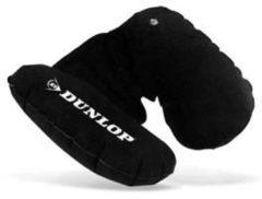 Zwarte Dunlop opblaasbaar nekkussen - Neksteun - Reiskussen | Zwart
