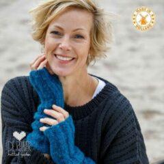 Blauwe De Reuver Knitted Fashion ARMWARMERS 100% NEDERLANDS (556)