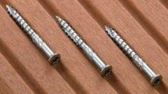 Zilveren FEKO Vlonderschroef TX25 RVS 5x70mm (doos 100stuks) - Schroeven - RVS -Schroef