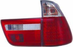 Universeel Set LED Achterlichten BMW X5 E53 2000-2002 - Rood/Helder