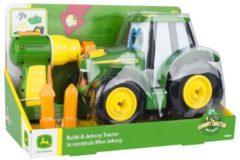 Tomy Bouwpakket Johnny Tractor - John Deere 16-delig Groen