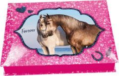 Depesche Horses Dreams doos met schrijfwaren
