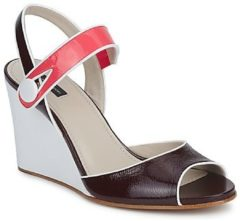 Paarse Sandalen Marc Jacobs VOGUE GOAT