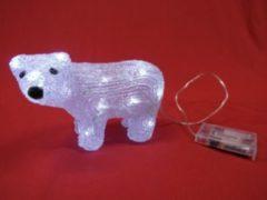 Merxx Leuchtender Acryl Bär mit 30 LEDs für Innen