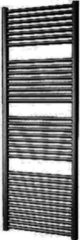Douche Concurrent Designradiator Plieger Palermo 170,2x60cm 921 Watt Zwart Grafiet Zijaansluiting