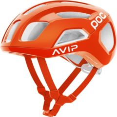 Oranje POC Ventral AIR SPIN Fietshelm - Maat M - Zink Orange AVIP
