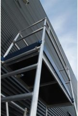 Grijze Kamersteiger - Alumexx - Eco - Module A - 3 meter werkhoogte