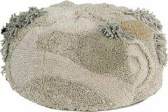 Roze Lorena Canals - Poef - Mossy Rock - 30 x 50 cm