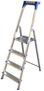 Afbeelding van Express Huishoudtrap aluminium 4-treden