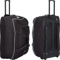 Avento Team Trolley Tas - Zwart