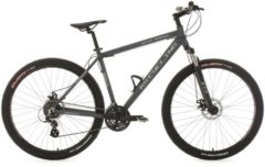 KS Cycling MOUNTAINBIKE TWENTYNINER HARDTAIL 24 GÄNGE GTZ 29 ZOLL MTB Fullsuspension Herren grau