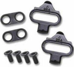 Zwarte Spinning® Cleats: SPD Compatible