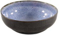 Blauwe Merkloos / Sans marque 6x Schaaltje reactive 12.6 cm diameter