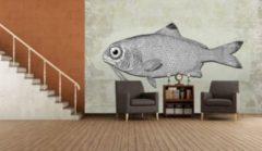 IDEALDECOR Fototapete »Fish on the Wall«