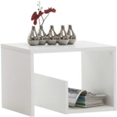 FD Furniture Bijzettafel / Lectuurhouder Mike - Wit
