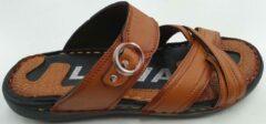 Lava Heren Slippers - Mustard - Maat 39