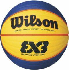 Blauwe Wilson Basketbal 3x3 Mini FIBA maat 3