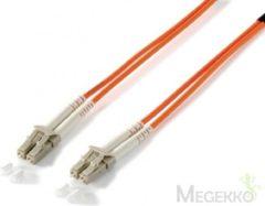 Equip LC/LС 62.5/125μm 1.0m 1m LC LC Oranje Glasvezel kabel