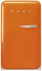 Smeg FAB10LOR5 koelkast met vriesvak, linksdraaiend, oranje