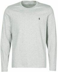 Grijze T-Shirt Lange Mouw Polo Ralph Lauren L/S CREW-CREW-SLEEP TOP