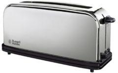 Russell Hobbs Chester Langschlitz-Toaster 23510-56, für 2 Scheiben, 1000 Watt, Edelstahl poliert