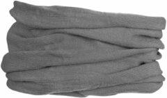 GripGrab - Multifunctional Merino Neck Warmer - Halsdoek maat 54-63 cm, grijs