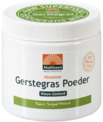 Mattisson Absolute Gerstegras Barleygrass Poeder Bio Raw - 125 g