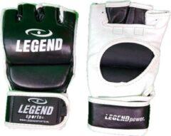 Zwarte Legend Sports Leren MMA - Bokszak handschoenen Legend UFC S