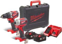 Milwaukee M18 CBLPP2A-402X Power Pack 18V | M18 CBLPD + M18 CBLID