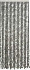 Royal Patio kattenstaartgordijn - 90 x 210 cm - grijs