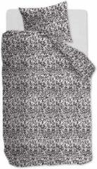 Ambiante Conor - Dekbedovertrek - Eenpersoons - 140x200/220 cm + 1 kussensloop 60x70 cm - Zwart