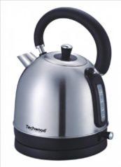 Roestvrijstalen Techwood - Retro waterkoker - 1.8 liter - rvs