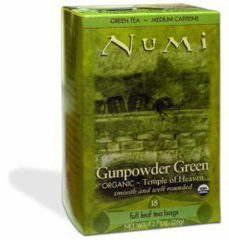 Groene Numi Green tea heaven gunpowder