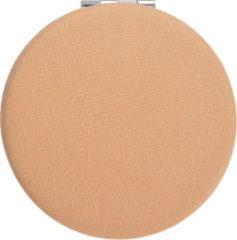 Juleeze | Handspiegel Ø 6 cm beige | Beige | Polyresin / glas | Rond | JZSP0001BE