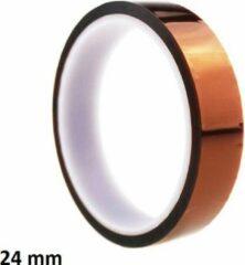 Goudkleurige MTB Cycling 24mm Tubeless velglint tape - 30meter rol - geschikt voor 26/27,5/28/29 inch