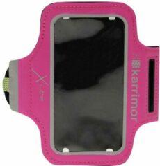 Karrimor Sportarmband - Hardloop armband voor telefoon - Roze