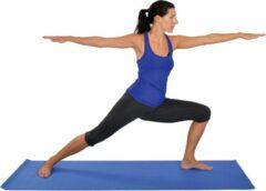 Yoga mat Mambo Max - Blauw | Professionele Fitness mat | 173 cm