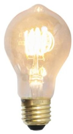 Calex Spiraled Standardlampe LED-Filament gold 4W (ersetzt 20W) große Fassung E27