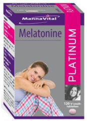 MannaVital Melatonine Platinum Smelttabletten
