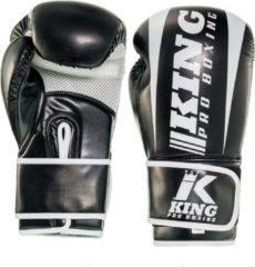 Zwarte King PRO boxing (kick)bokshandschoenen KPB/BG REVO-1 12oz
